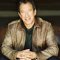 Book Tim Allen for your next corporate event, function, or private party.