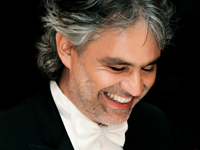 Book Andrea Bocelli for your next corporate event, function, or private party.