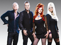 Book The B-52s for your next corporate event, function, or private party.