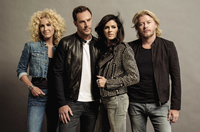 Book Little Big Town for your next corporate event, function, or private party.