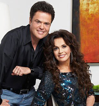 Book Donny & Marie Osmond for your next corporate event, function, or private party.