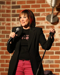 Book Pam Matteson for your next corporate event, function, or private party.