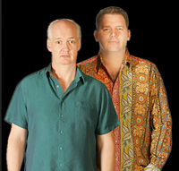 Book Colin Mochrie & Brad Sherwood for your next corporate event, function, or private party.
