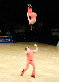 Book Acrobazia for your next corporate event, function, or private party.