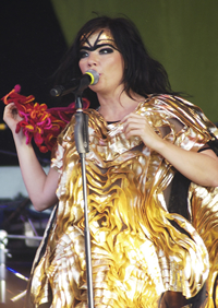 Book Bjork for your next corporate event, function, or private party.