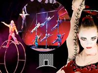 Book IL Circo-Viaggio for your next corporate event, function, or private party.