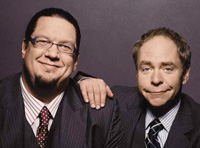 Book Penn & Teller for your next corporate event, function, or private party.