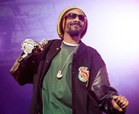 Book Snoop Dogg for your next corporate event, function, or private party.