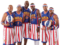 Book Harlem Globetrotters for your next corporate event, function, or private party.