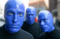 Book Blue Man Group for your next corporate event, function, or private party.
