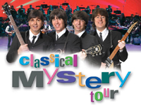 Book Classical Mystery Tour (Tribute To Beatles) for your next corporate event, function, or private party.