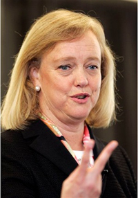 Book Meg Whitman for your next corporate event, function, or private party.