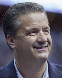 Book John Calipari for your next corporate event, function, or private party.