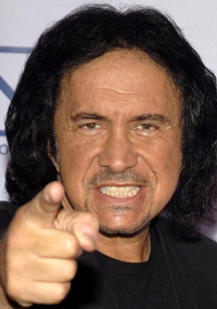 Book Gene Simmons for your next corporate event, function, or private party.