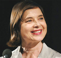 Book Isabella Rossellini for your next corporate event, function, or private party.