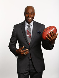 Book Jerry Rice for your next corporate event, function, or private party.