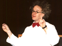 Book Ken Glickman AKA Professor Glickman for your next corporate event, function, or private party.
