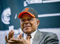 Book Willie Mays for your next corporate event, function, or private party.