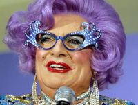 Book Dame Edna Everage for your next corporate event, function, or private party.