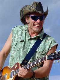 Book Ted Nugent for your next corporate event, function, or private party.