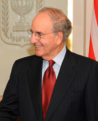 Book Senator George Mitchell for your next corporate event, function, or private party.