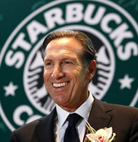 Book Howard Schultz for your next corporate event, function, or private party.