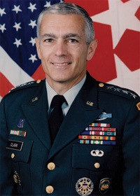 Book General Wesley Clark for your next corporate event, function, or private party.