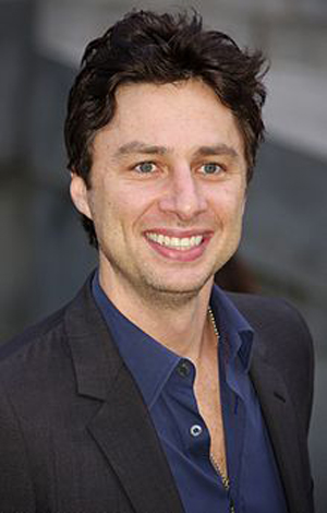 Book Zach Braff for your next corporate event, function, or private party.