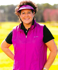 Book Nancy Lopez for your next corporate event, function, or private party.