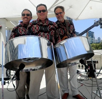 Book Island Mirage Steel Drum Band for your next corporate event, function, or private party.