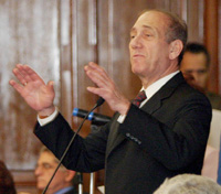 Book Ehud Olmert for your next corporate event, function, or private party.