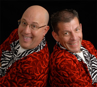 Book The Clever Cleaver Brothers for your next corporate event, function, or private party.