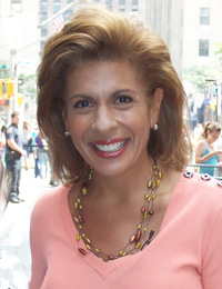 Book Hoda Kotb for your next corporate event, function, or private party.
