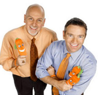 Book Adrian Gostick & Chester Elton - The Carrot Guys for your next corporate event, function, or private party.