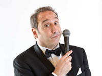 Book Jeremy Hotz for your next corporate event, function, or private party.