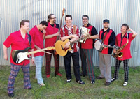 Book Antsy McClain And The Trailer Park Troubadours for your next corporate event, function, or private party.
