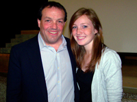 Book Kevin & Hannah Salwen for your next corporate event, function, or private party.
