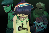 Book Gorillaz for your next corporate event, function, or private party.