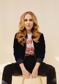 Book Rachel Hollis for your next corporate event, function, or private party.