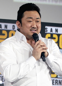 Book Ma Dong-seok for your next corporate event, function, or private party.