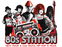 Book 80's Station for your next corporate event, function, or private party.