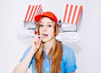 Book Simone Giertz for your next corporate event, function, or private party.