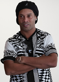 Book Ronaldinho for your next corporate event, function, or private party.