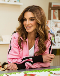 Book Queen Rania for your next corporate event, function, or private party.