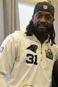 Book Charles Tillman for your next corporate event, function, or private party.