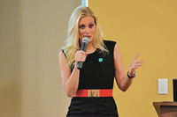 Book Katie Hnida for your next corporate event, function, or private party.