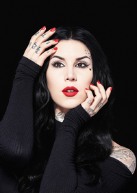 Book Kat Von D for your next corporate event, function, or private party.