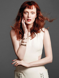 Book Karen Elson for your next corporate event, function, or private party.