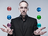 Book Derren Brown for your next corporate event, function, or private party.