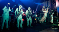 Book Here Come The Mummies for your next corporate event, function, or private party.